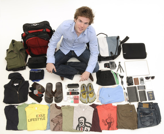 Minimalist Colin Wright and all of his possessions