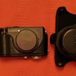Panasonic Lumix LX3 Camera and Leather Case