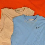 2 Sleeveless Gym Shirts