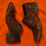 Brown Leather Diesel Shoes