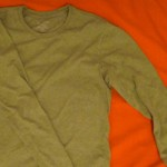 Grey/Green Long Sleeve Tshirt