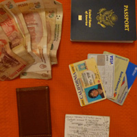 Slim Slimmy Wallet, Passport, ID, Cash Cards and Pesos