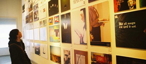 Colin in the Pushpin Studio gallery