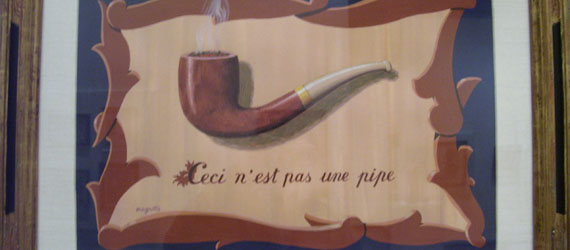 Ceci n'est pas une pipe painting magritte