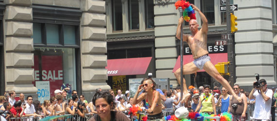 Gay Pride Parade in NYC 2010