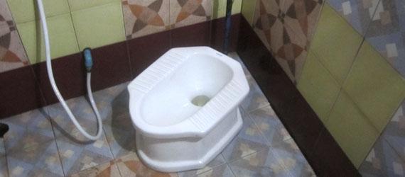Thai toilet