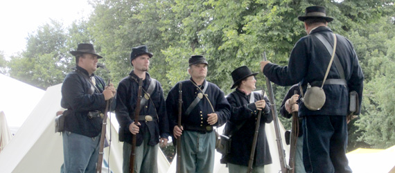 Union Civil War Soldiers