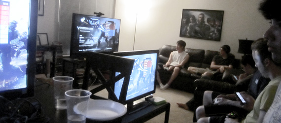 HALO Reach LAN party