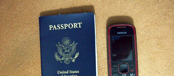 US Passport and Nokia Phone